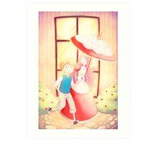 Candy Kingdom Date Art Print