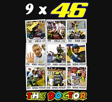 Valentino Rossi 46: The only real nine times World Champion Unisex T-Shirt