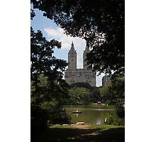 Central Park Buildings Photographic Print
