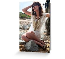 The sun shone on a lovely day... Greeting Card