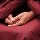 monks hands by demor44