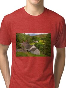 Cottages in the Trees Tri-blend T-Shirt