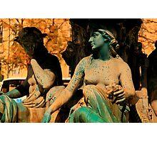 lisbon statues Photographic Print