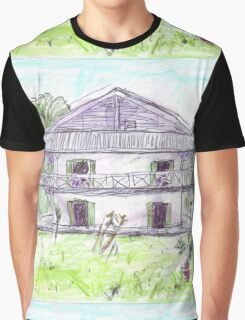 Doctor's House, Old Leprosy Colony, Curieuse Island Graphic T-Shirt