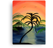 My Paradise Canvas Print