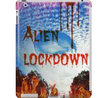 alien lockdown iPad Case/Skin