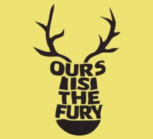 House Baratheon, Ours Is The Fury Kids Clothes