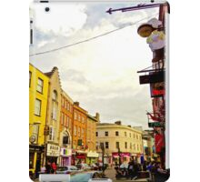 Cork City Street Scene 001  iPad Case/Skin