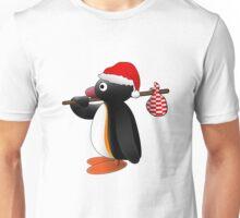 Pingu the Penguin on Christmas! Unisex T-Shirt
