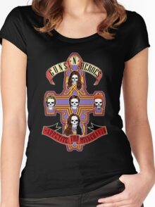 Appetite for Misbehavin' Women's Fitted Scoop T-Shirt