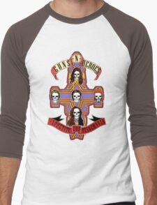 Appetite for Misbehavin' Men's Baseball ¾ T-Shirt