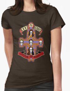 Appetite for Misbehavin' Womens Fitted T-Shirt