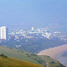 Eastbourne through the Haze by mikebov