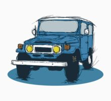FJ40 Blue by GrumpyDog