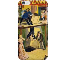 Vintage poster - The Queen of Chinatown iPhone Case/Skin