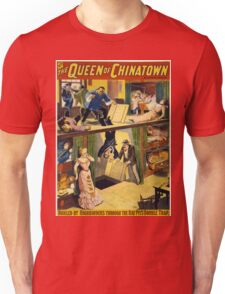 Vintage poster - The Queen of Chinatown Unisex T-Shirt