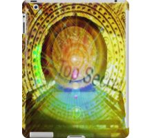 mayan time travel machine iPad Case/Skin