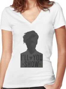 I'll Show You // Purpose Pack // Women's Fitted V-Neck T-Shirt