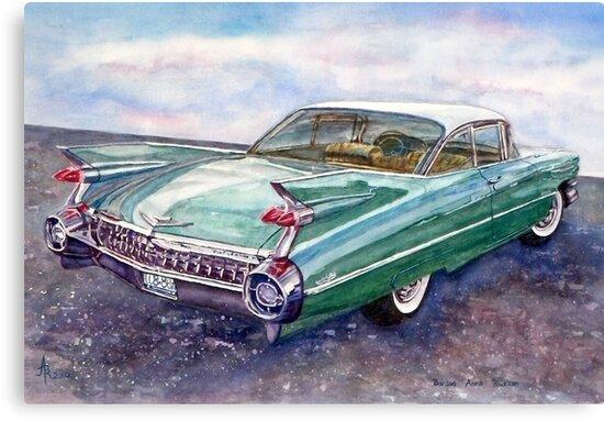 Cadillac Cruising by BAR-ART