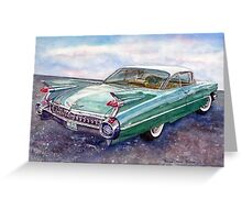 Cadillac Cruising Greeting Card