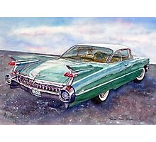 Cadillac Cruising Photographic Print