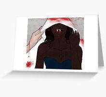 Tara Blood Greeting Card