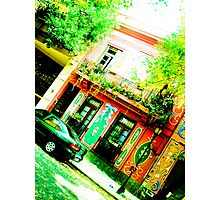 Colorful street and historic. Photographic Print