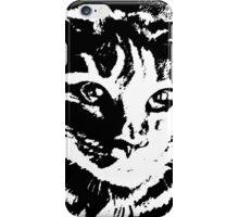 Cool Cat Graphic ~ Black  iPhone Case/Skin
