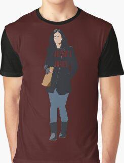 Minimalist Jessica Jones With Text Graphic T-Shirt