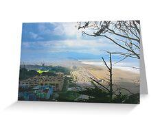 Ocean Beach and Beyond Greeting Card