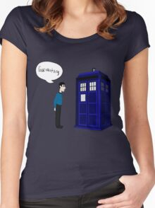 Fascinating Women's Fitted Scoop T-Shirt