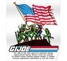 G.I. Joe 1982 - Stars and Stripes Forever Poster