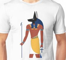Anubis in Ancient Egypt Unisex T-Shirt