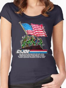 G.I. Joe 1982 - Stars and Stripes Forever Women's Fitted Scoop T-Shirt