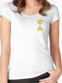 The Minimalist Doctor Whooves Women's Fitted Scoop T-Shirt