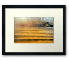 Sweet Water Falls in Muddy Pond Framed Print