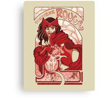 Sorcière Rouge Canvas Print