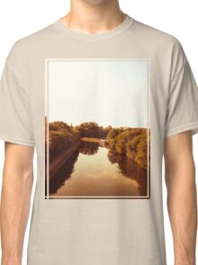 Peaceful Canal Classic T-Shirt