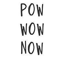 Pow wow now Photographic Print