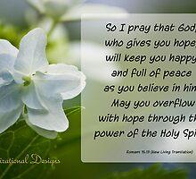 Romans 15:13 by Deborah McLain