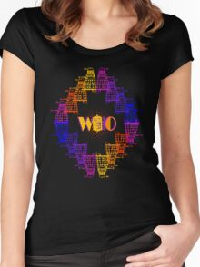 Color Me Who Women's Fitted Scoop T-Shirt