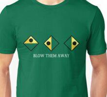 "Wind Waker ""Blow them away"" White Unisex T-Shirt"