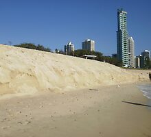 Wild Weather, Beach Erosion ! by MardiGCalero
