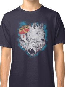 The princess and the wolf Classic T-Shirt