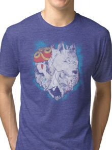 The princess and the wolf Tri-blend T-Shirt