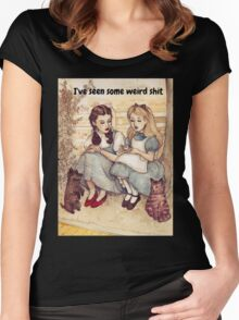 Dorothy and Alice Women's Fitted Scoop T-Shirt