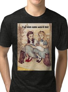 Dorothy and Alice Tri-blend T-Shirt