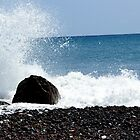 Splashing Rocks by MoniqueFlynn