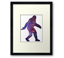 Sasquatch Framed Print
