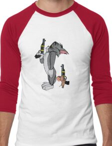 Tom & Jerry Men's Baseball ¾ T-Shirt